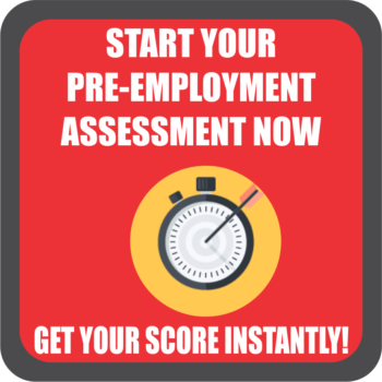 Pre Employment Assessment Test